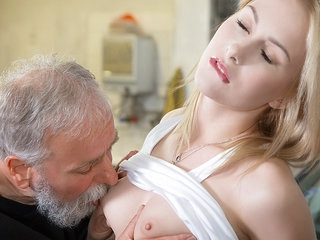Little Candy in Wet Pussy For Breakfast - Old-N-Young