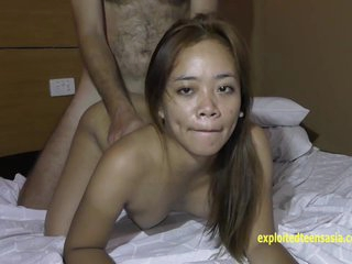 ExploitedTeensAsia Blue-blooded Filipina Amateur Teen Mary Gets Steadfast Fuck Helter-skelter Angeles PI Be thick Seductive