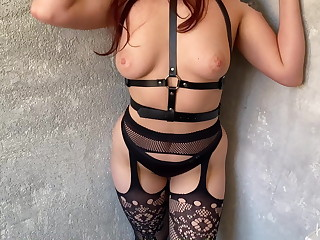I love sexy lingerie, stockings and in favour sex with creampie