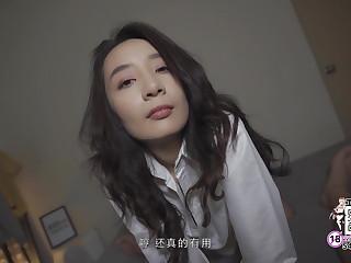 Peachy Asian Girlfriend Seduces Chum