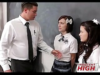 Trine teens and teacher
