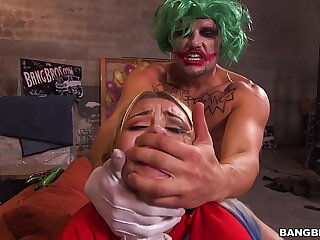Teen Fucked by the Joker's Big Cock