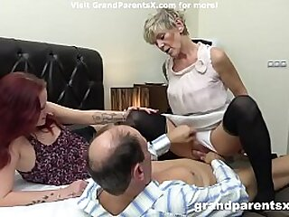 Grandparents fucking a young call girl