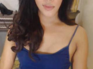Seductive TGirl Teases and Trembles on Webcam