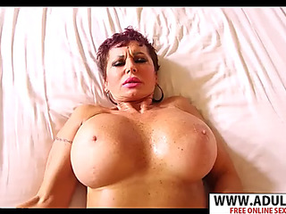 Euro mamma melina take penis well her son's ally