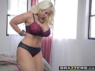 Brazzers - Big Butts Like It Big -  My Stepmothers Pantyhose scene starring Alura Jenson and Jessy J