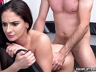 Hot hardcore sex with Latina MILF theif Sheena Ryder