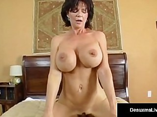 American MILF, Deauxma invites her boy toy over, for some hot sex & ends up taking his Cock in her Ass for some Juicy & Sensual Anal Pounding! See FULL VIDEO @ Live @DeauxmaLive.com!