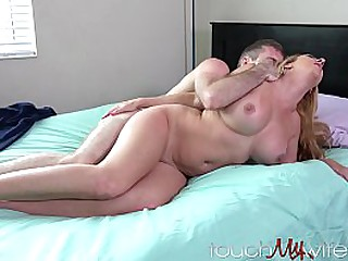 Stud Has Fun with My Hot Wife on B-Day