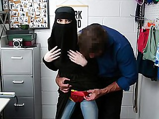 Hot girl Delilah Day gets caught shop lifting and banged by security-STORELYFTER.COM