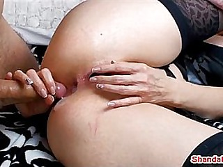 Canada's dirtiest MILF Shanda Fay has her pussy stuffed with her panties and has a hot anal creampie!  Meet Shanda Fay live most Saturdays at ShandaFay.com!